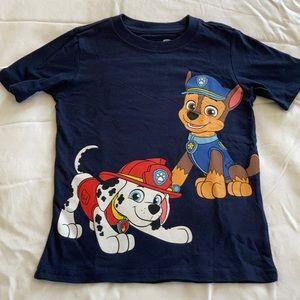 NWOT Paw Patrol Nickelodeon t-shirt unisex size 5T